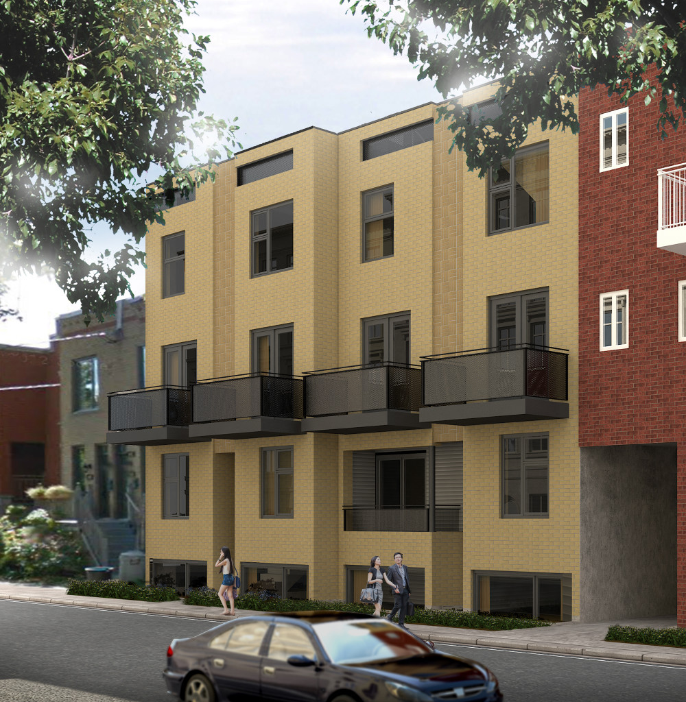 Devler New Condo Projects Point Vert Montreal